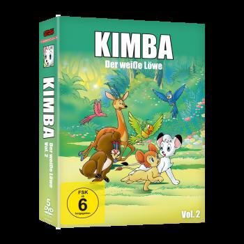 Kimba, der weiße Löwe (1965-1966)  Vol. 2 DVD (VÖ: 23.02.2018!)