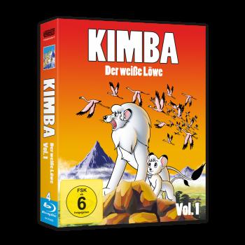 Kimba, der weiße Löwe (1965-1966)  Vol. 1 Blu-ray (VÖ: 08.12.2017!)