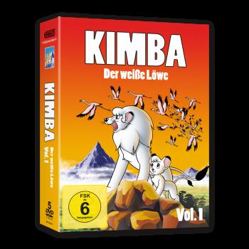 Kimba, der weiße Löwe (1965-1966)  Vol. 1 DVD (VÖ: 08.12.2017!)