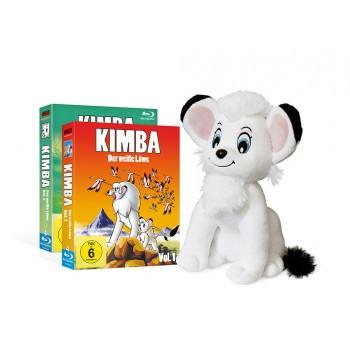 Kimba, der weiße Löwe (1965-1966) Blu-ray Mega Bundle inkl. Stofftier