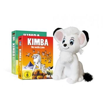 Kimba, der weiße Löwe (1965-1966) DVD Mega Bundle inkl. Stofftier