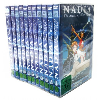 Nadia - The Secret of Blue Water Set Vol. 1-10 + Movie