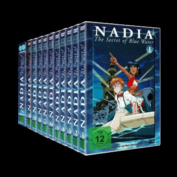 Nadia - The Secret of Blue Water Set Vol. 1-10 + Movie