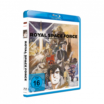 Royal Space Force - Wings of Honnêamise Blu-ray