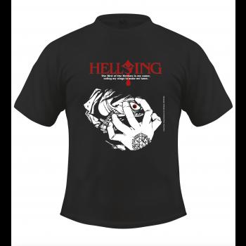 Hellsing Alucard-T-Shirt, schwarz