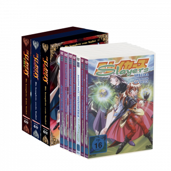 Slayers Mega-Bundle (alle 3 Staffeln: Slayers, Slayers Next, Slayers Try + alle OVAs/Filme)