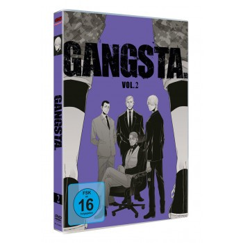 GANGSTA. – Vol. 2 - DVD-Edition