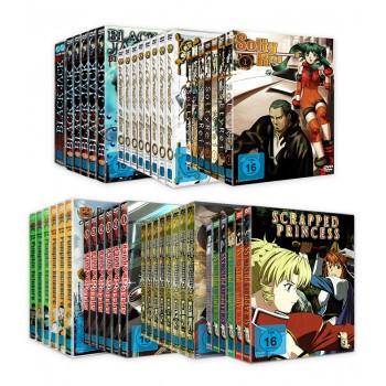 Nipponart DVD Komplett-Set Aktion (7 komplette Serien zum Hammerpreis für NUR 159,00 € statt 248,21 €!)