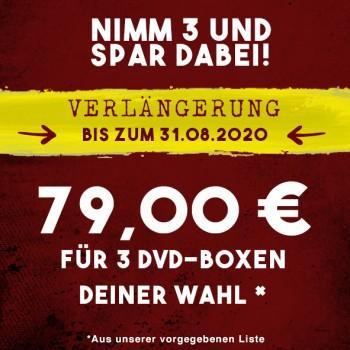 3 DVD-Boxen für 79,00 €!
