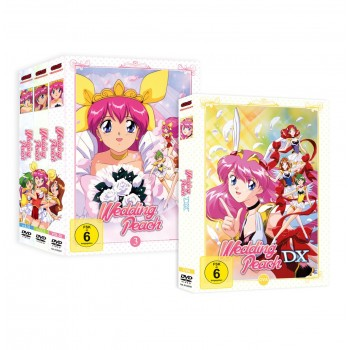 Wedding Peach Mega-Bundle (alle 3 DVD-Boxen + DX)