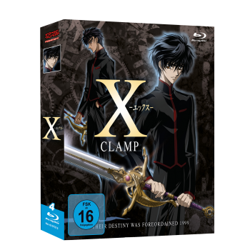 X - TV Serie Gesamtausgabe Blu-ray