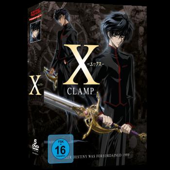 X - TV Serie Gesamtausgabe DVD