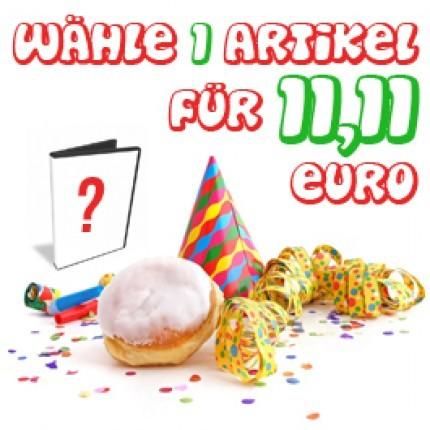 Wähle 1 Artikel für 11,11 Euro