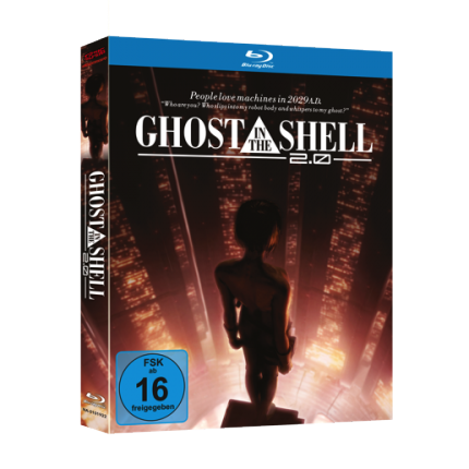 Ghost in the Shell - Movie 2.0 Blu Ray-Edition