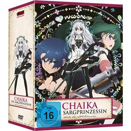 Chaika - Die Sargprinzessin – Vol. 1-4 Komplett-Set inkl. Sammelschuber - DVD-Edition