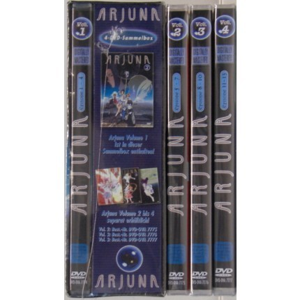 Arjuna Vol. 1 - 4 Komplett-Set m. Schuber