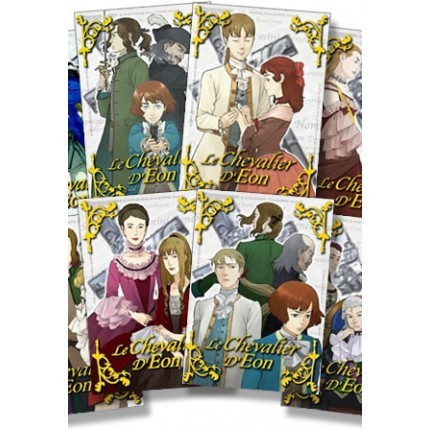 Le Chevalier d'Eon Komplett-Set, Vol. 1 - 8
