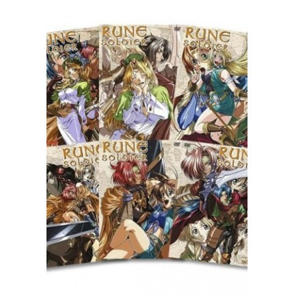 Rune Soldier Komplett-Set, Vol. 01 - 06