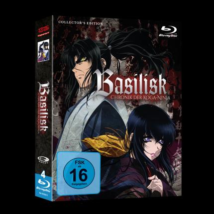 Basilisk - Chronik der Koga-Ninja Gesamtausgabe Blu Ray