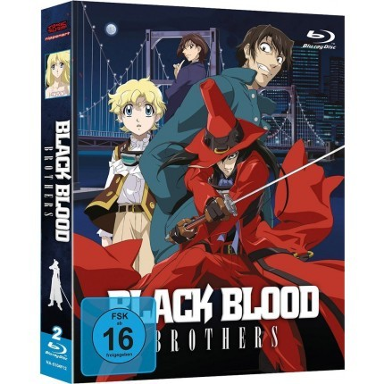 Black Blood Brothers - Gesamtausgabe Blu Ray