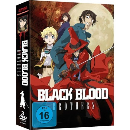 Black Blood Brothers - Gesamtausgabe DVD
