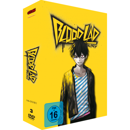 Blood Lad Komplett-Set DVD Edition (Volume 1 - 3 im Schuber)