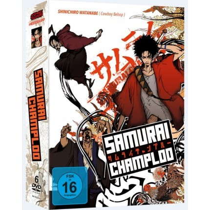 Samurai Champloo - Gesamtausgabe DVD-Edition