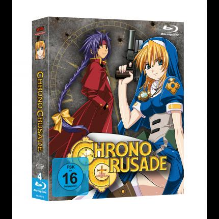 Chrono Crusade - Gesamtausgabe Blu-Ray-Edition (VÖ: 25.08.2017!)