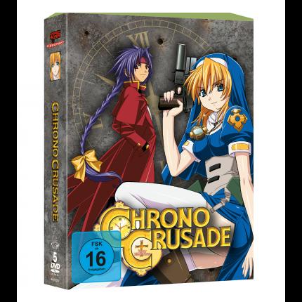 Chrono Crusade - Gesamtausgabe DVD-Edition (VÖ: 25.08.2017!)