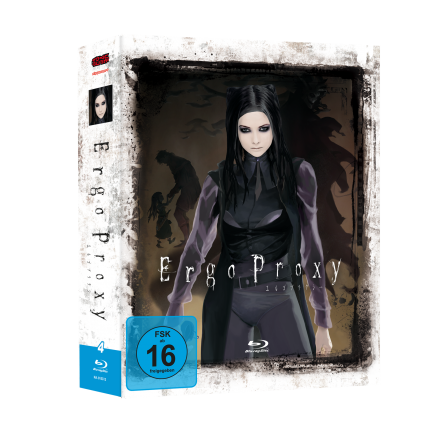 Ergo Proxy - Gesamtausgabe Blu Ray (VÖ: 28.07.2017!)