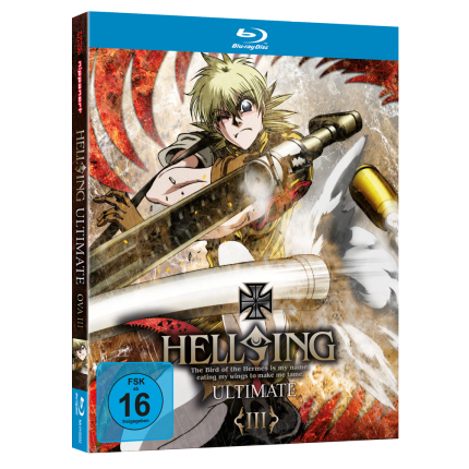 Hellsing Ultimate OVA Vol. 3 Blu-ray-Edition (optional mit exklusivem T-Shirt!)