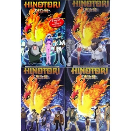 Hinotori - 4er DVD-Set