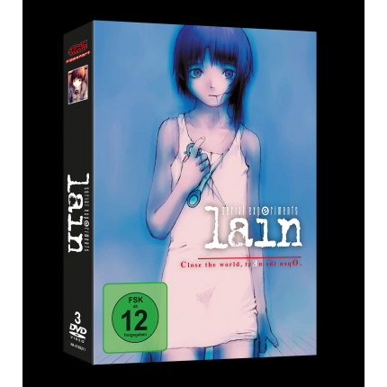 Serial Experiments Lain Gesamtausgabe DVD (VÖ: 25.08.2017!)