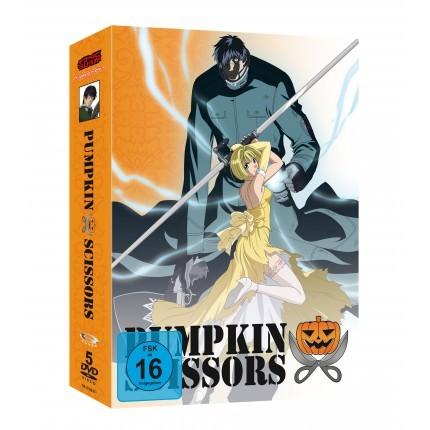 Pumpkin Scissors - Gesamtausgabe DVD (VÖ: 31.03.2017!)
