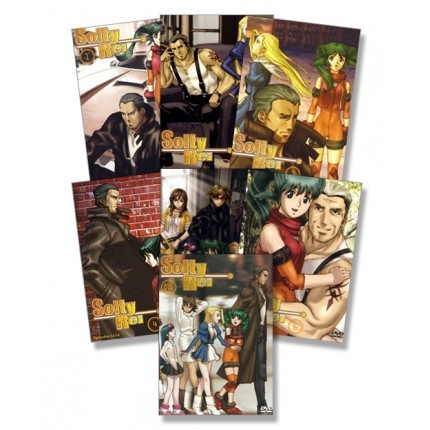 Solty Rei Komplett-Set, Vol. 01 - 06 + OVA