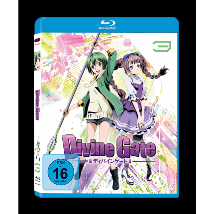 Divine Gate – Vol. 3 - Blu Ray-Edition (VÖ: 28.07.2017!)
