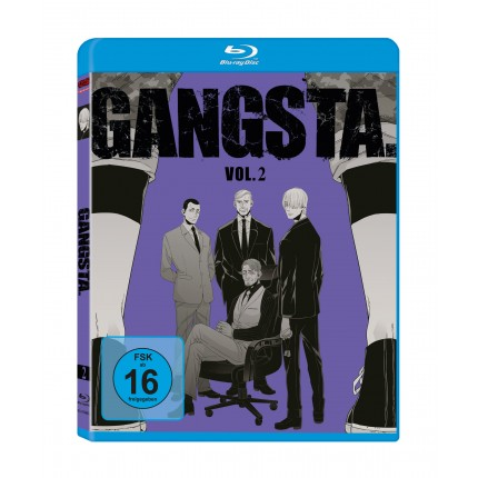 GANGSTA. – Vol. 2 - Blu Ray-Edition