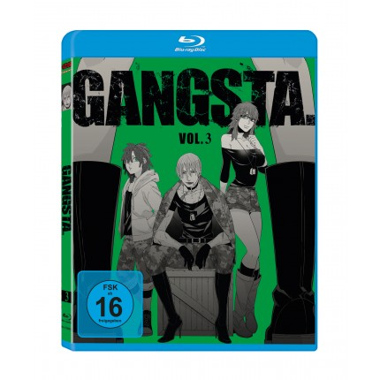 GANGSTA. – Vol. 3 - Blu Ray-Edition