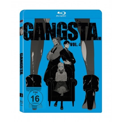 GANGSTA. – Vol. 4 - Blu Ray-Edition (VÖ: 31.03.2017!)