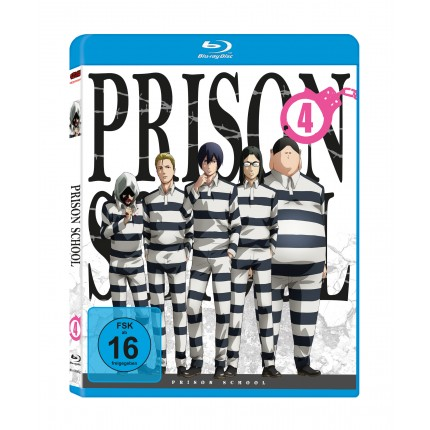 Prison School – Vol. 4 - Blu Ray-Edition