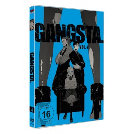 GANGSTA. – Vol. 4 - DVD-Edition (VÖ: 31.03.2017!)